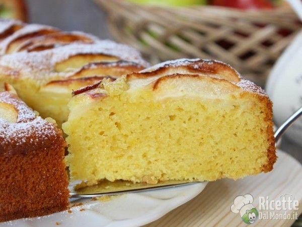 Torta Senza Burro E Uova E Latte.Torta Di Mele Senza Burro Latte E Uova