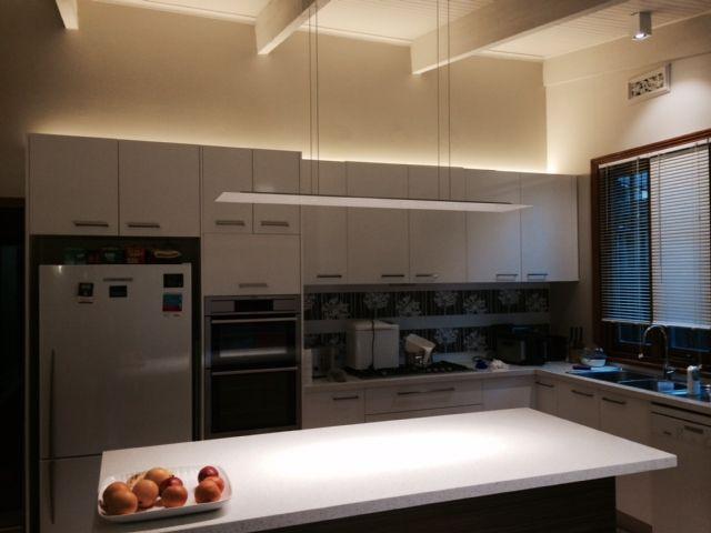 Kitchen Lighting Hidden Lighting Pendant Lighting Slim Line - Island counter lighting