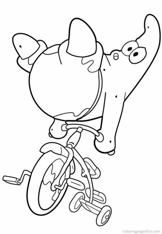 spongebob patrick star coloring pages 31 - Patrick Star Coloring Pages
