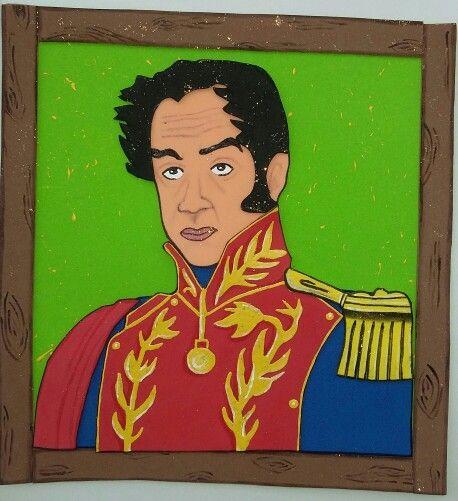 Simon Bolivar Foami Munecos En Foami Ninos Bolivar