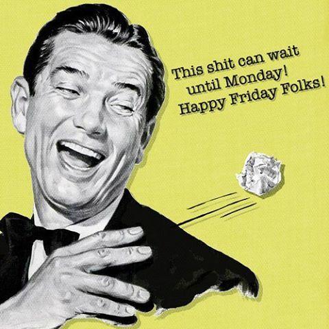 Ya falta poco!  Feliz #viernes que empiece el #weekend