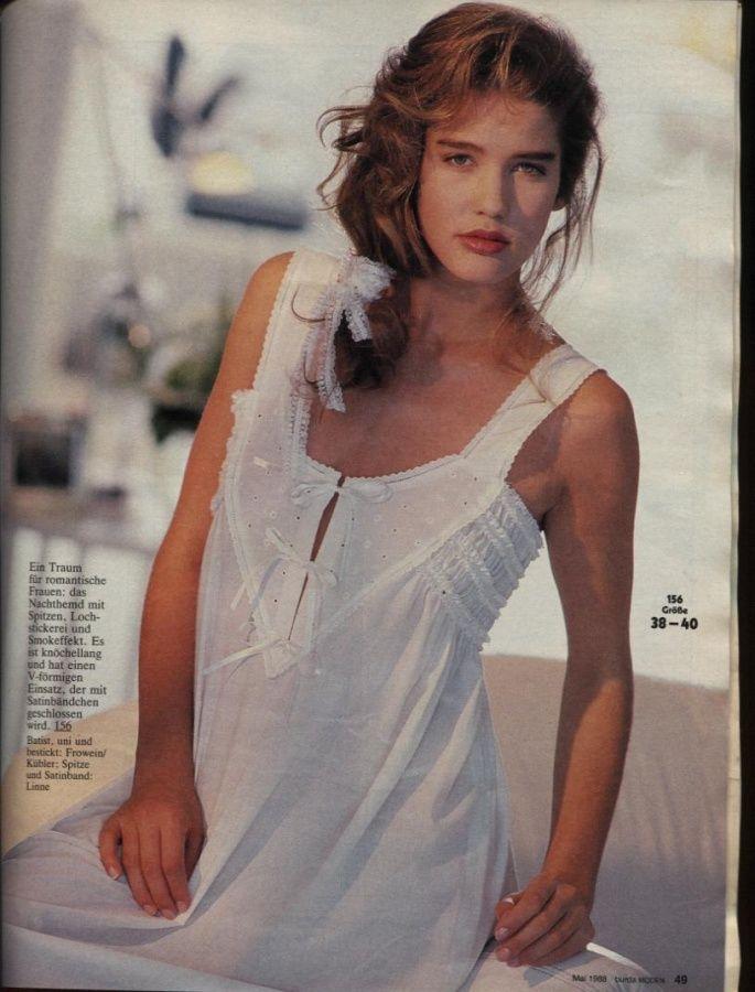 burda 1988 | ropa de dormir burda | Pinterest