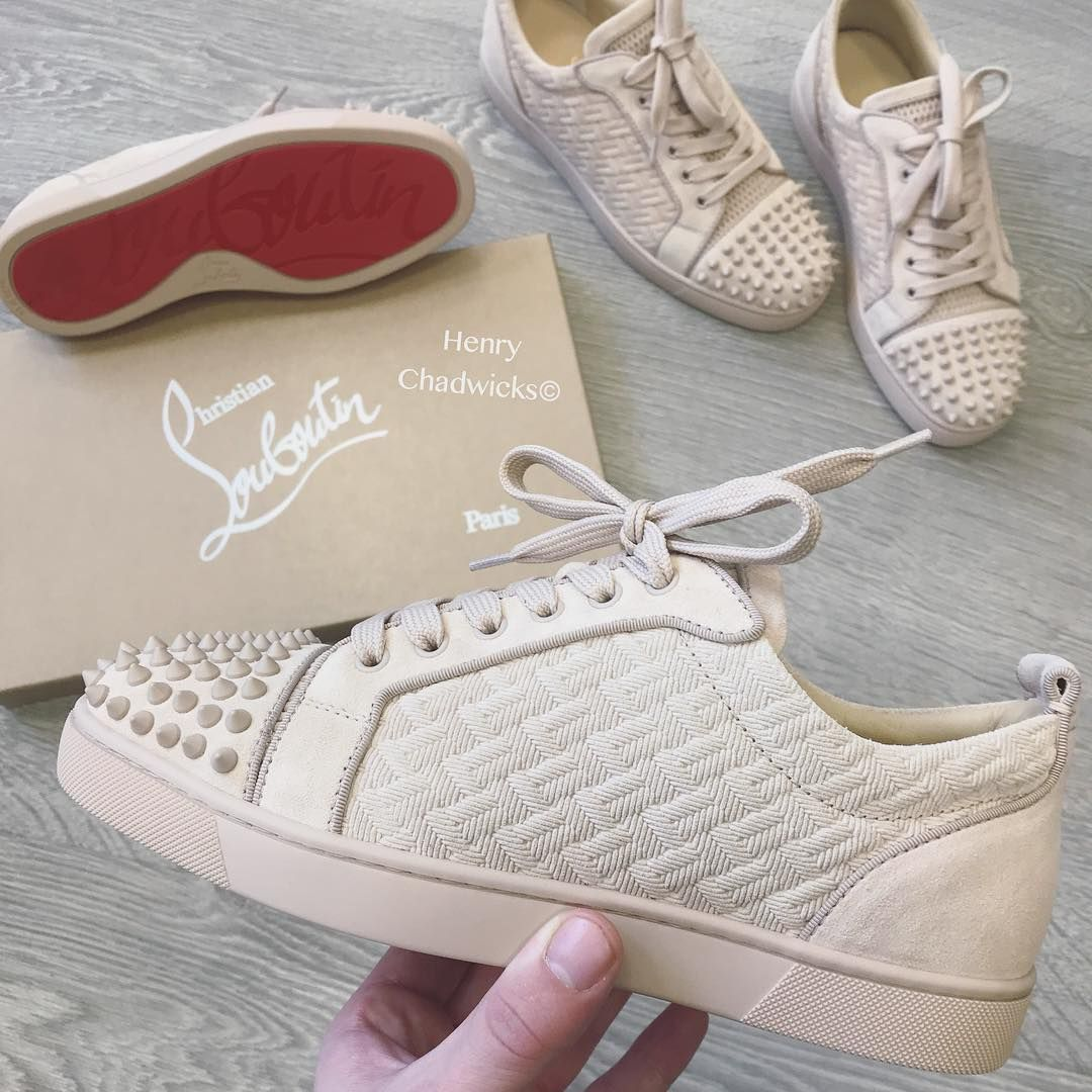 buy online 35984 e6fa4 New Season Suede Spikes #ChristianLouboutin #redbottoms ...