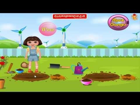 Dora Gardener 3 - Dress Up | Kids Games | Juegos y Frozen