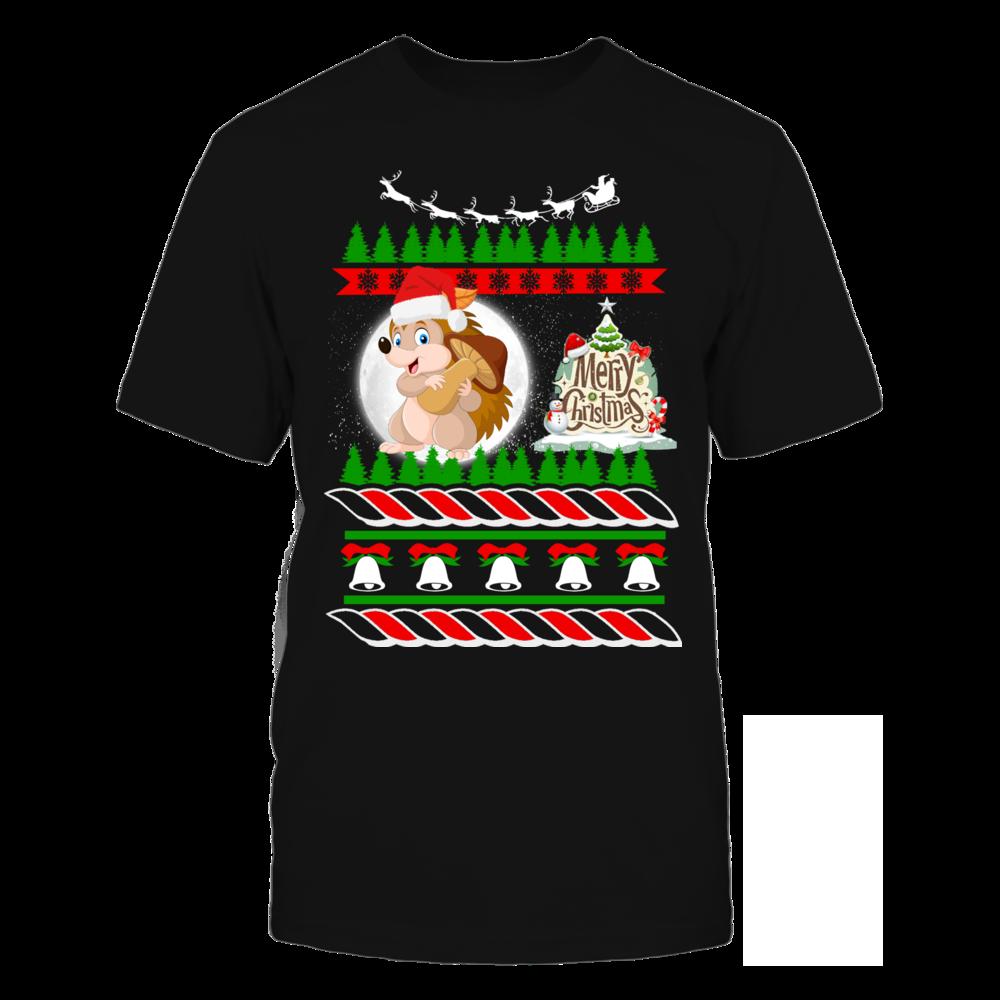 Hedgehog Christmas Sweater.Hedgehog Ugly Christmas Sweater Fanprint Christmas Store