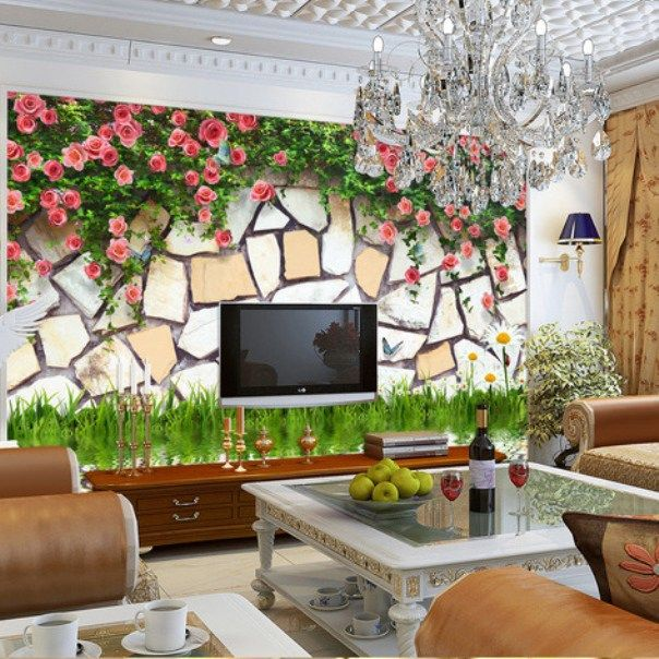 Spring Wallpaper For Modern Living Room Ideas  Living Room Custom Wallpaper Living Room Ideas For Decorating Design Decoration