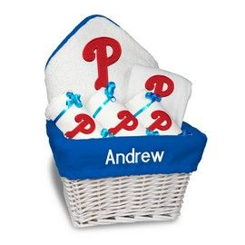 Philadelphia phillies medium basket a 6 items philadelphia philadelphia phillies medium basket a 6 items philadelphia phillies at personalized gifts for babies and negle Image collections