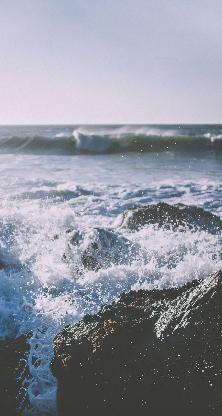 Wave Body Of Water Wind Wave Sea Water Ocean In 2020 Landscape Wallpaper Iphone Wallpaper Ocean Ocean Wallpaper