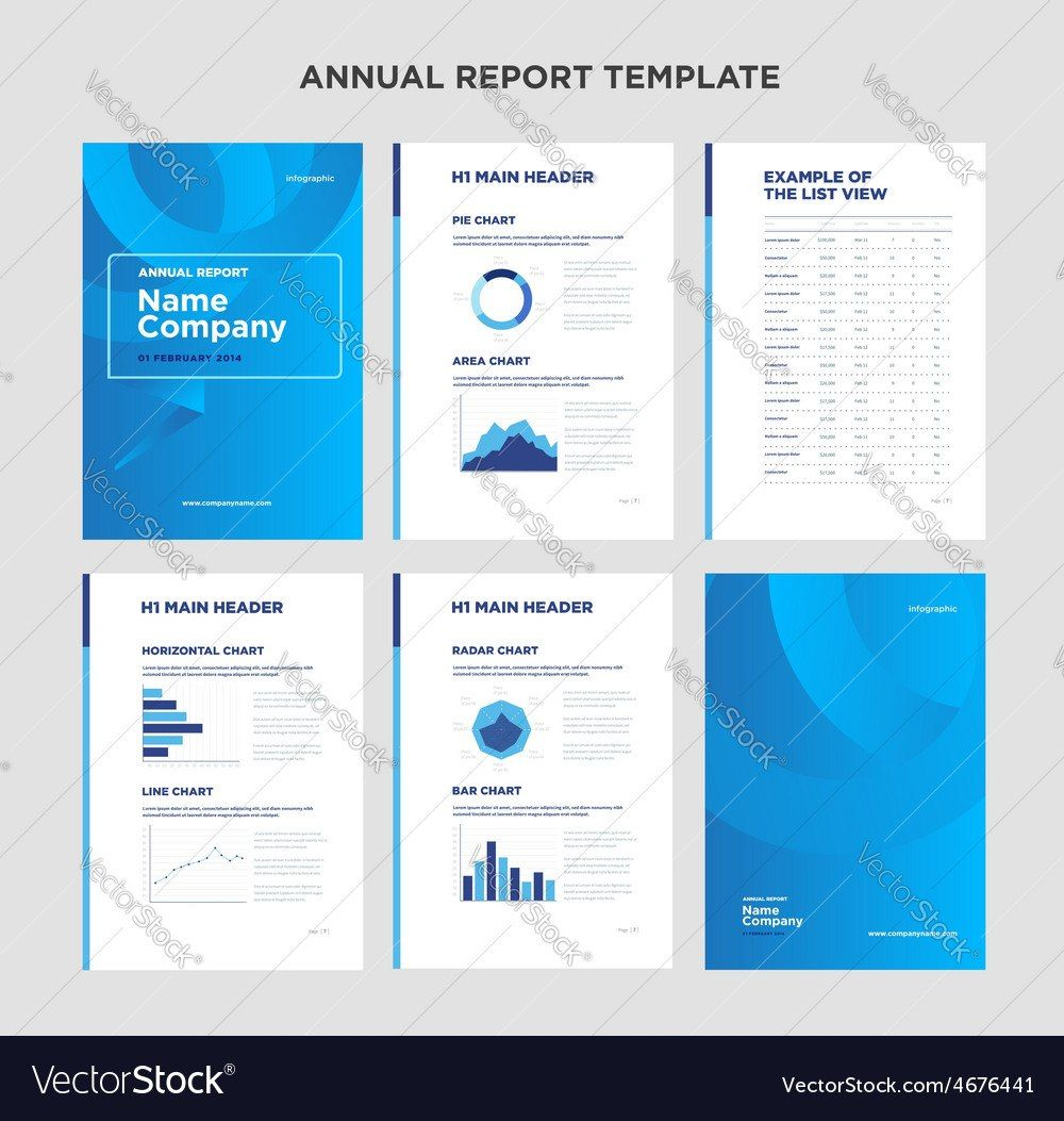 Annual Report Template Word In 2020 Report Design Template Business Report Design Templates Business Report Design