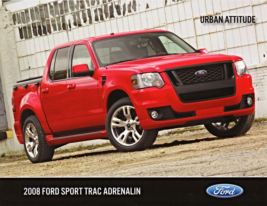2008 Ford Sport Trac Adrenalin Ford sport trac, Sport