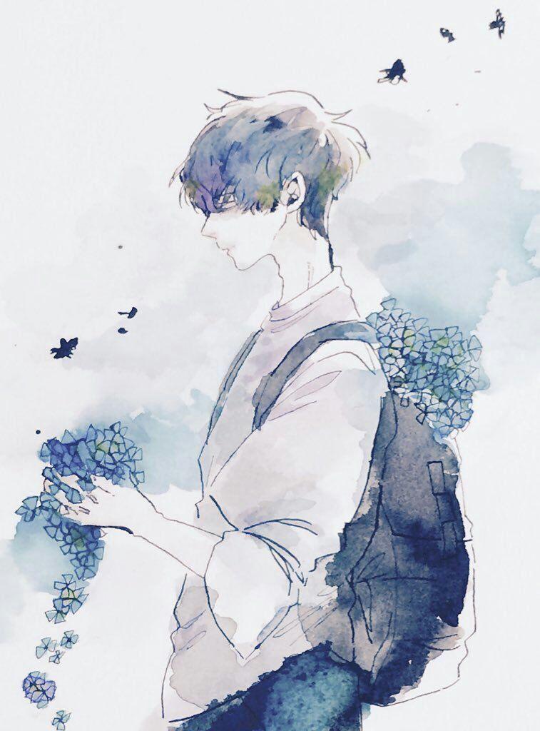 Inspirationally Sane By Art And Music Photo Anime Art Anime Anime Drawings