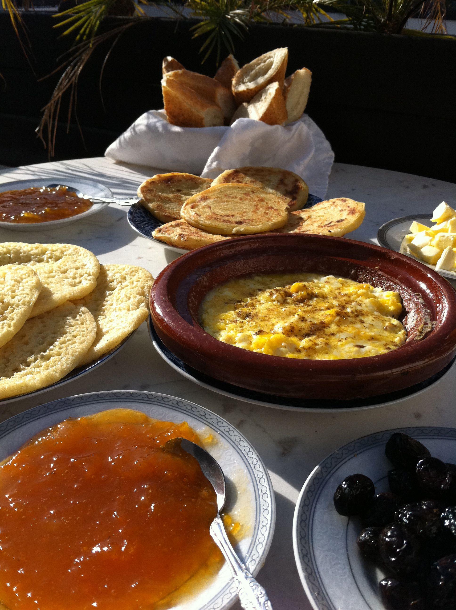 prima colazione marocchina....!