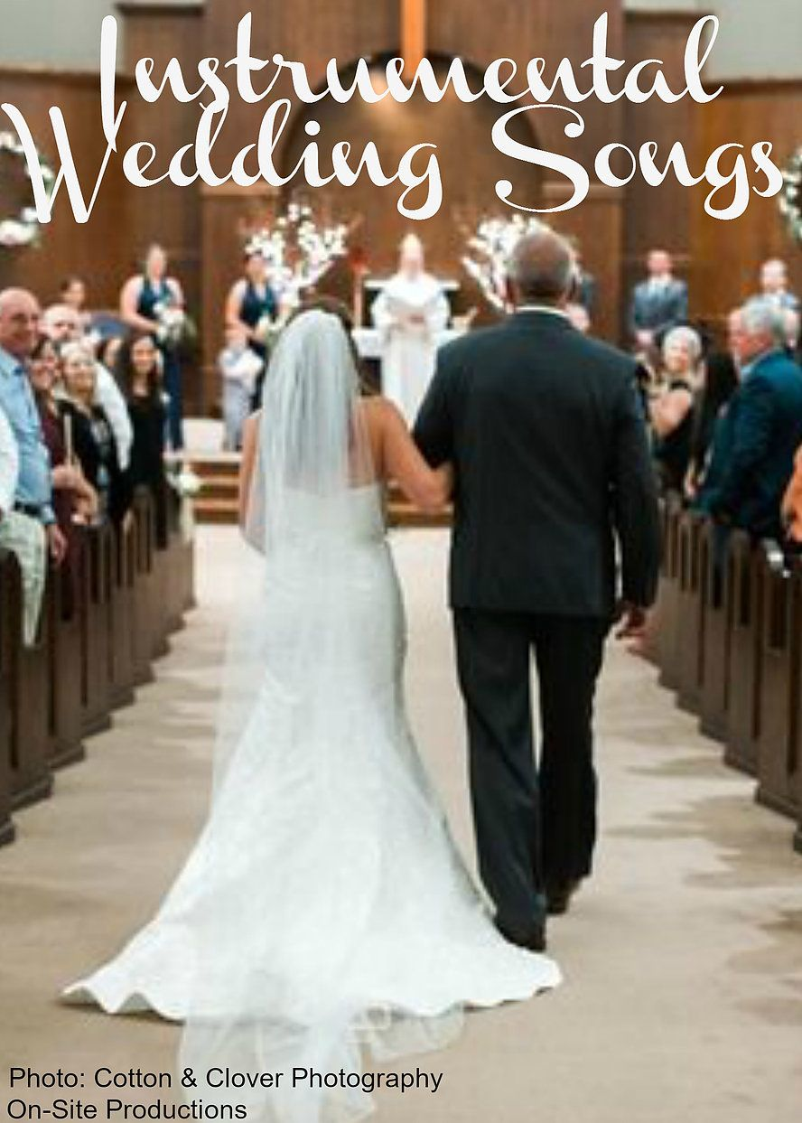 Are you looking for instrumental music for your wedding