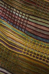 Ravelry: Slip Stitch Afghan #L32005 pattern by Lion Brand Yarn #slipstitch