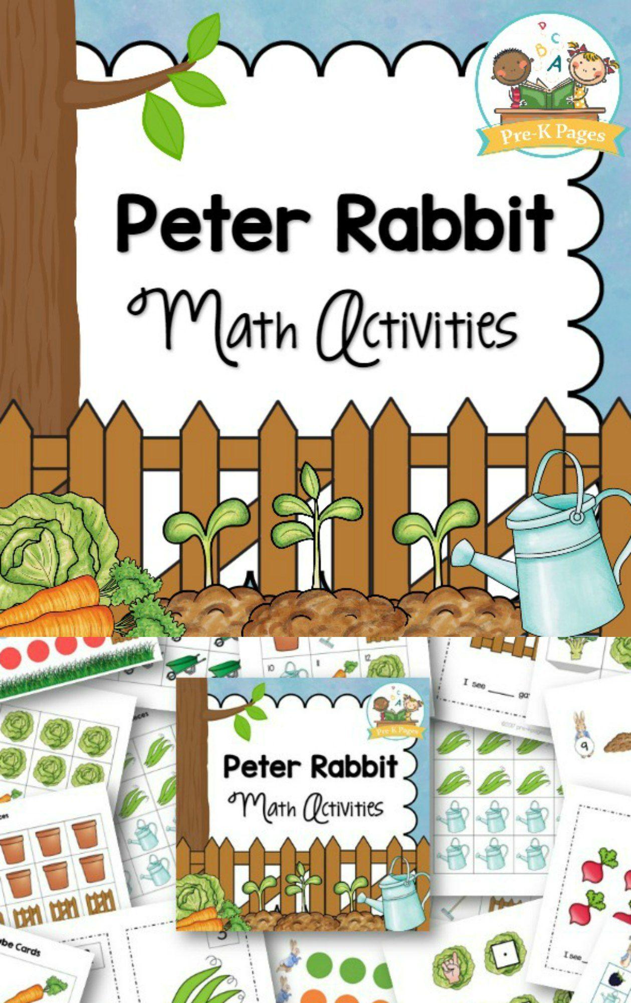 Peter Rabbit Math Activities