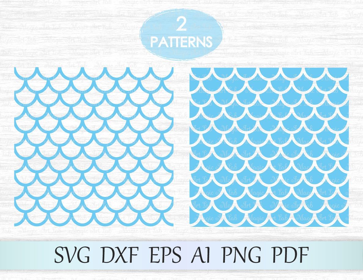 Mermaid patterns Cricut, Pattern, Mermaid