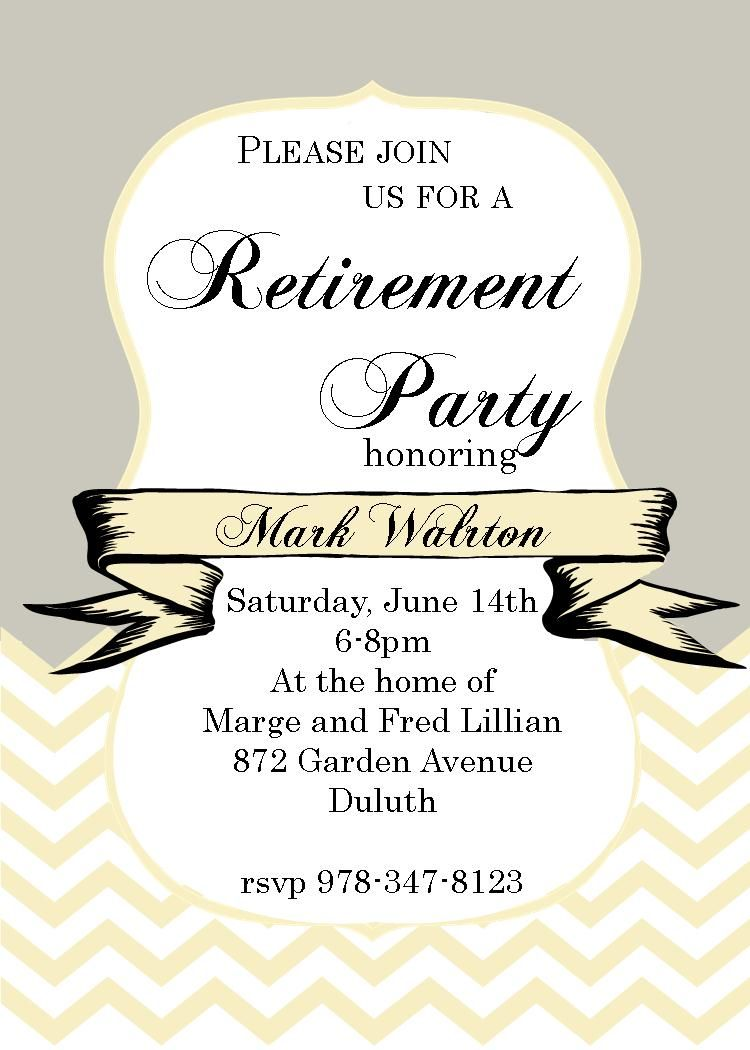 Customized Retirement Party Invitations Partyinvitations Com Housewarming Invitation Templates House Warming Invitations Housewarming Invitation Wording