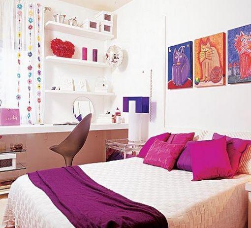 Modelos de dormitorios y cuartos para chicas adolescentes for Decoracion de cuartos para jovenes
