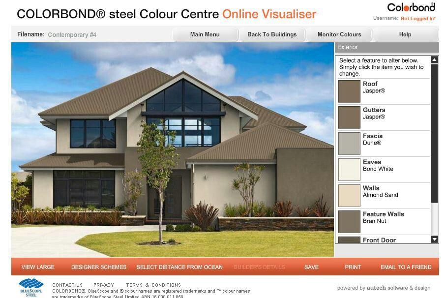 Colorbond House Colours Exterior House Colours Pinterest House Colors Exterior House