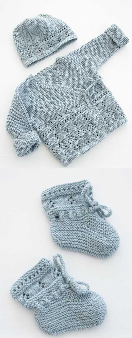 Photo of Kostenlose Baby-Strickanleitung für Jacken und Stiefeletten – Baby Knitting Pat…