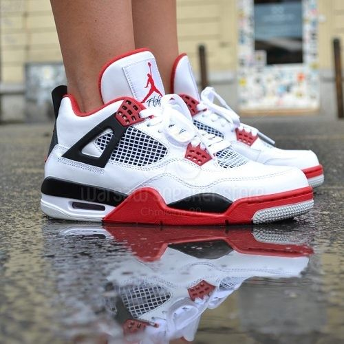569 Pln Buty Air Jordan 4 Retro Fire Red Air Jordan Jordan 4
