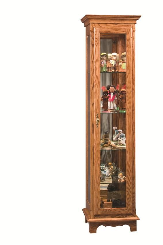 Amish Small Curio Cabinet Curio Cabinet Amish Furniture Cabinet