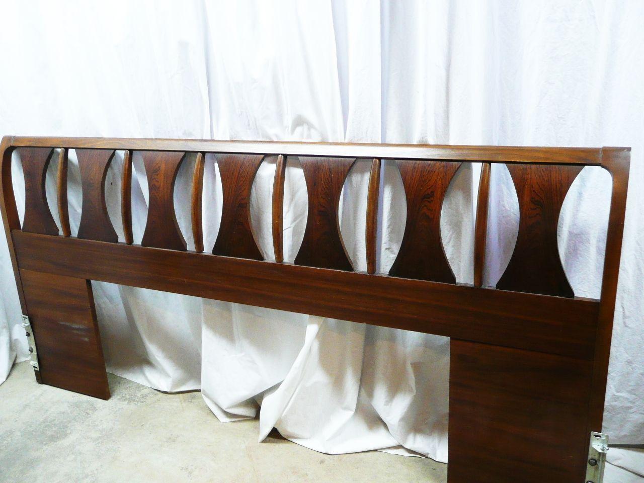 Kent Coffeys Perspecta Series Midcentury American Walnut Bedroom - Kent coffey bedroom furniture
