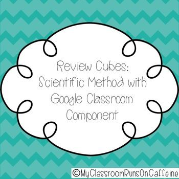Review Cubes Scientific Method Review Game Scientific method - scientific method worksheet