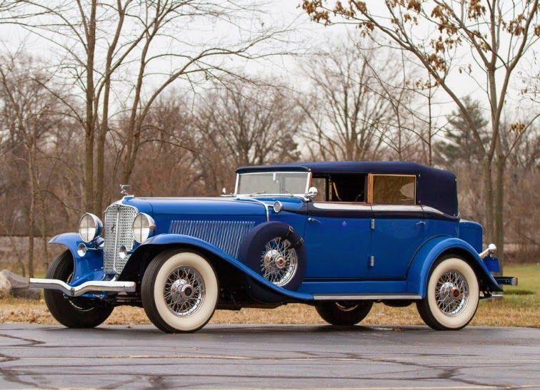 World Of Classic Cars: Auburn Twelve Custom Phaeton 1932 – World Of Class…