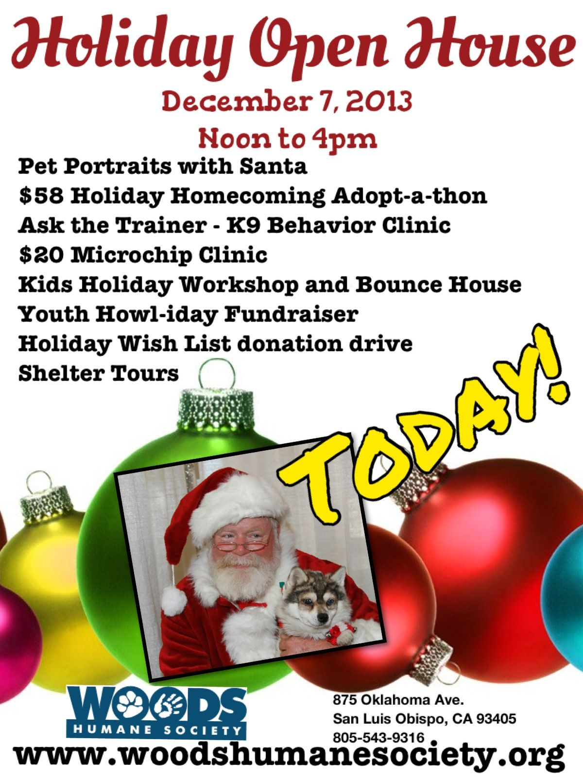 Holiday Open House Today!