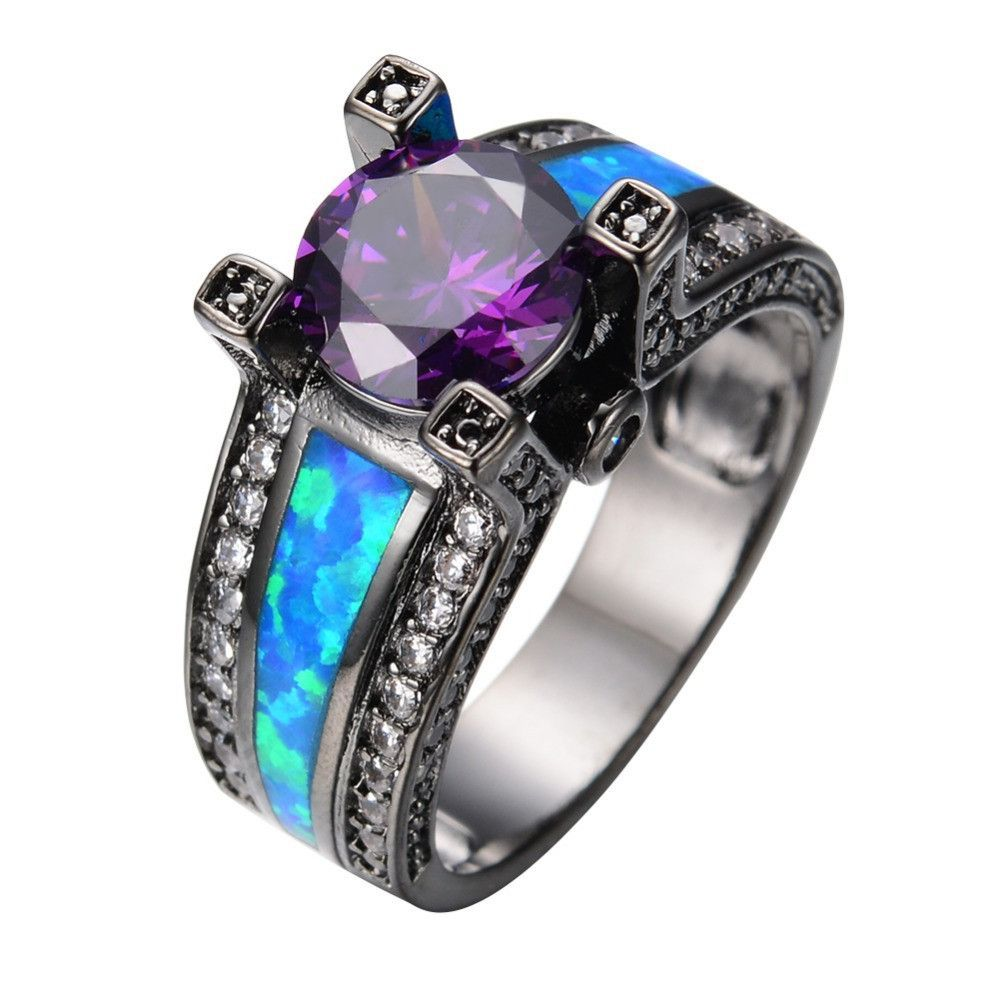 jewelers diamond ring amethyst purple in rings cut front emerald cushion white gold samuels