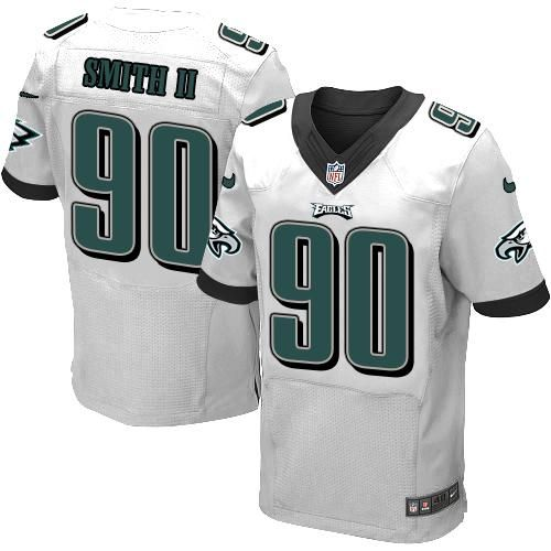nike eagles marcus smith ii white mens stitched nfl elite jersey and cowboys troy aikman 8 jersey