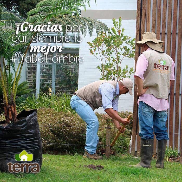 En #Terra le hacemos un homenaje especial a todos los hombres que día a día entregan lo mejor para cuidar lo que tanto amamos: ¡La naturaleza! Gracias. #DíaDelHombre. Visita nuestra página web www.terra.net.co y pregunta por nuestros servicios en el tel: (4)3860181