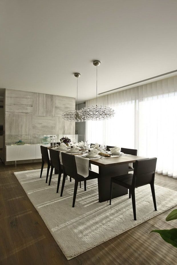 casa harmoniza moderno e contemporneo istanbul turkeymodern dining roomsliving - High Ceiling Dining Room Lighting