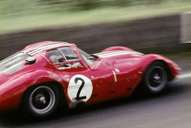 SPEED: lacurvaparabolica:   Le Mans - 1963  #2 Maserati