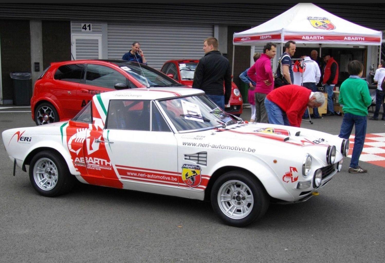Pin En Fiat 124 Abarth