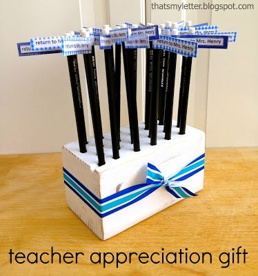 Thats My Letter: T is for Teacher Appreciation Gift | gift