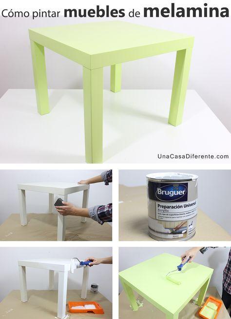 Quieres pintar muebles de melamina y no te atreves o no sabes qué ...