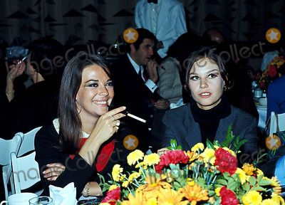 Natalie Wood and sister, Lana Wood.