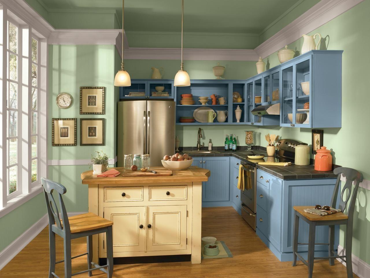 Kitchen Cabinet Color Selector -