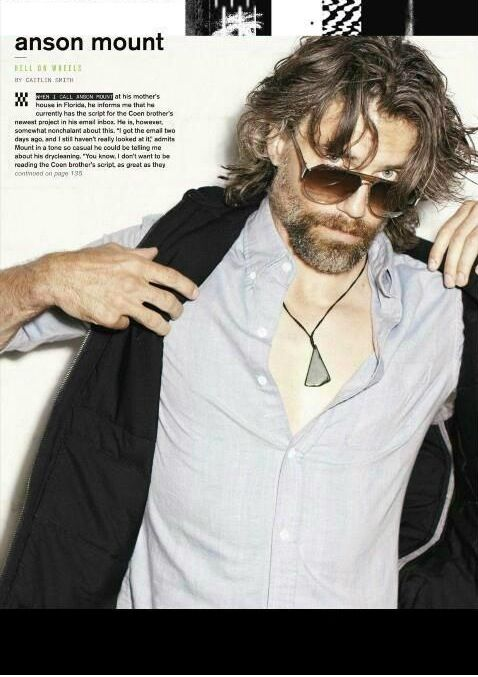 Oh me, Oh my a sexy Anson Mount.