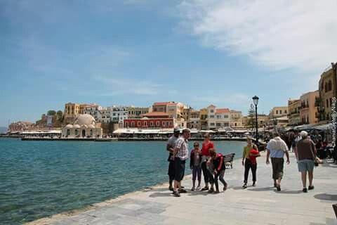 De haven van Xania...
