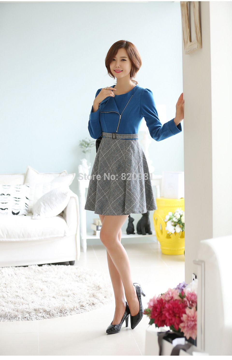 Find more dresses information about autumn new korean fashion style