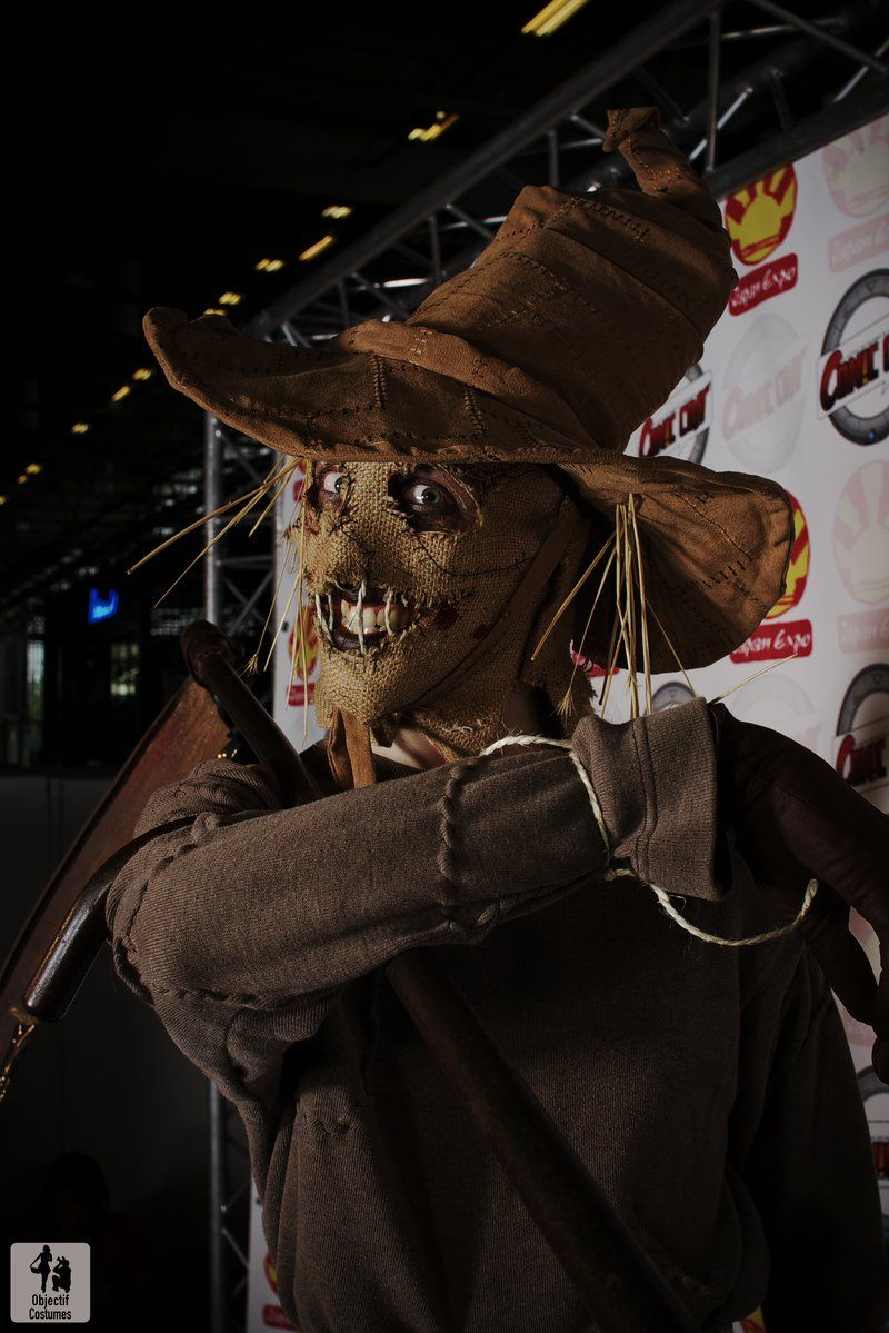 Scarecrow Cosplay By Boredman On Deviantart Scarecrow