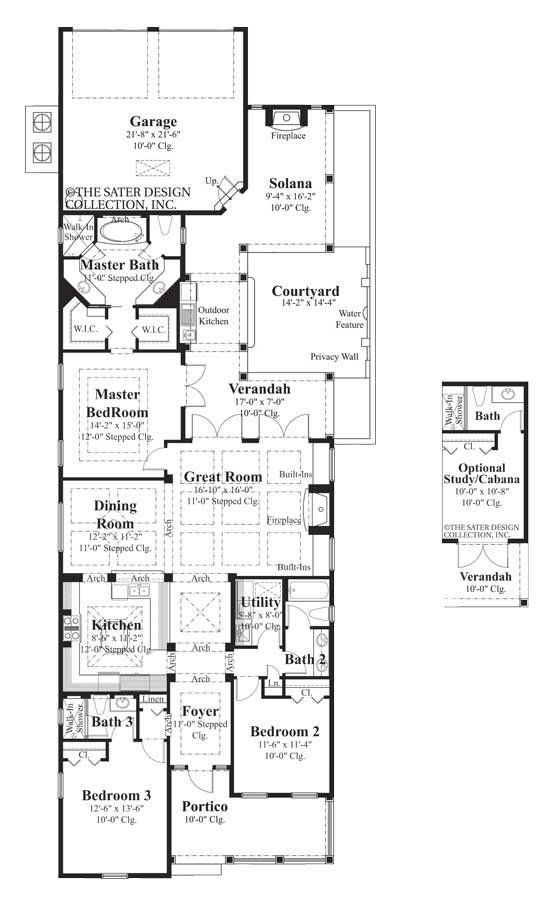 The Sycamore floor plan is a luxury, southern traditional