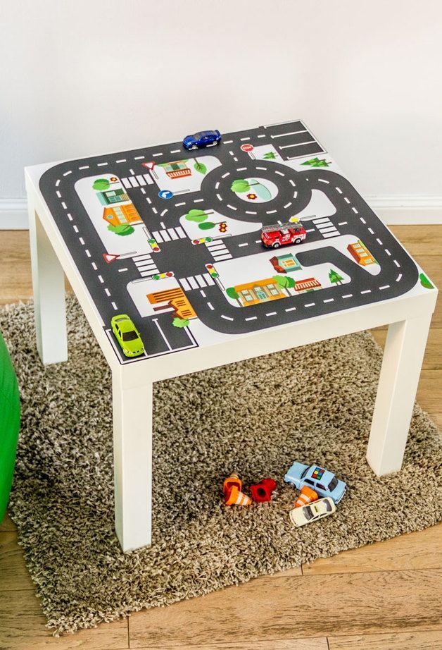 aufkleber f r kindertisch sticker for children 39 s table by limmaland via all 4. Black Bedroom Furniture Sets. Home Design Ideas