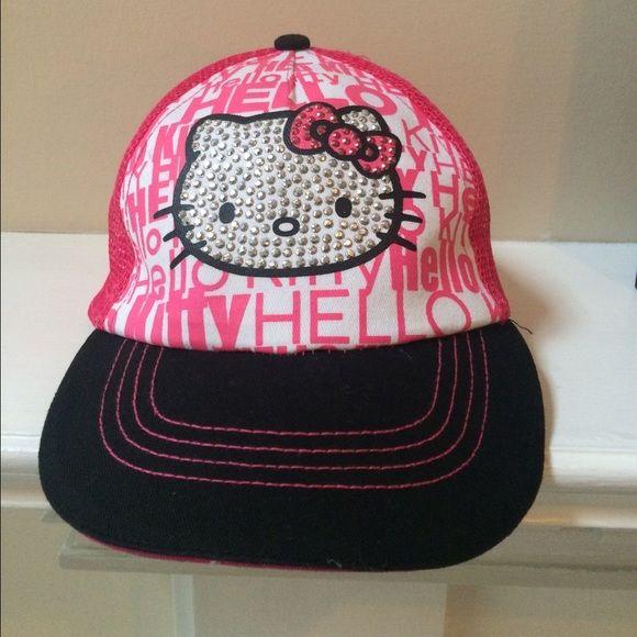 Hello Kitty Trucker Hat Hello Kitty Accessories Trucker Hat Hello Kitty