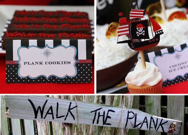 Walk The Plank Pirate Inspired Birthday