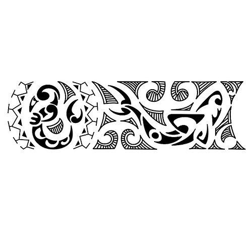 Bracelete Kirituhi Maori Tattoo Polinesia Mais De 2000 Desenhos
