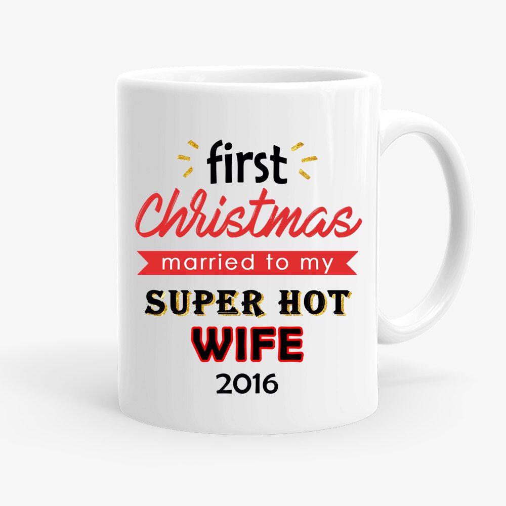 First Christmas Mug Funny Holiday Coffee Mug Funny